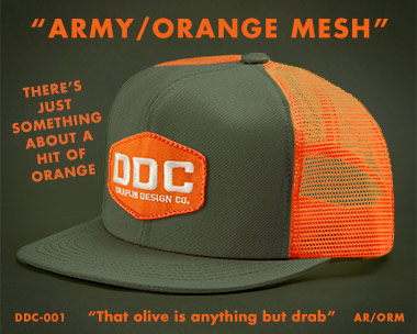 Draplin Design Co Ddc 001 Quot Factory Floor Issue Action Cap Quot